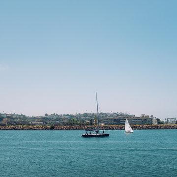 Marina Del Ray sailboat