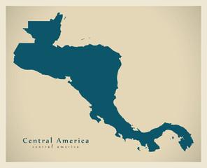 Modern Map - Central America