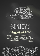 Enjoy summer holidays.