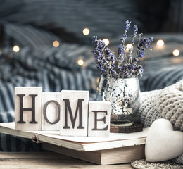 home decoration in the interior