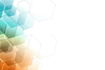 Fotobehang - abstract geometric mosaic