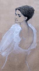 portrait, Pencil drawing, sketch