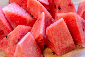 Close Up Of Sliced Watermelon 8