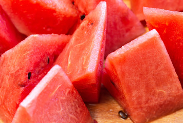 Close Up Of Sliced Watermelon 9