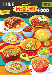 Mexican Food Ad Poster