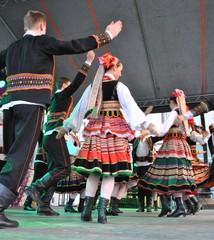 Fototapeta Lubelszczyzna - taniec regionalny obraz