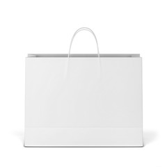 Blank shopping bag mockup