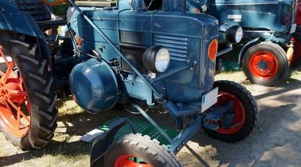 Historischer Landmaschinenhersteller