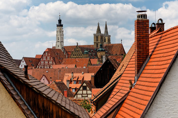 Rothenburg ob der Tauber..Rothenburg.