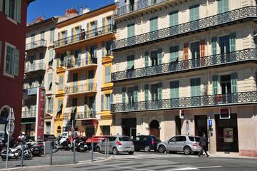 Nice, France - april 19 2016 : picturesque city center