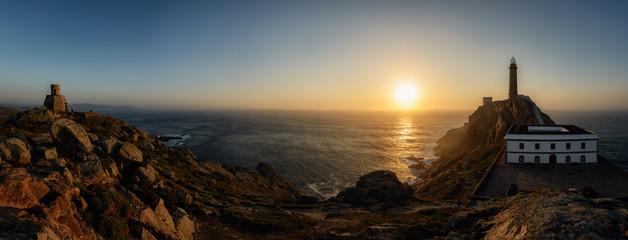 Faro Cabo Vilan, Galicia, España