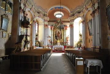 Obraz Wnętrze kościoła - fototapety do salonu