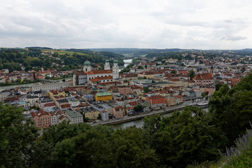 Passau - City of Three Rivers..