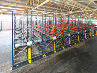 Mobile Aisle Shelving