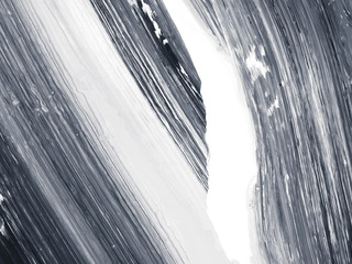 Black and white creative abstract hand painted background