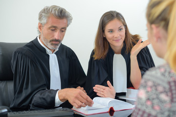 questioning the witness