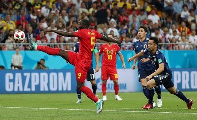 World Cup - Round of 16 - Belgium vs Japan