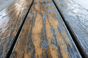 Old Weathered Wood Up Close