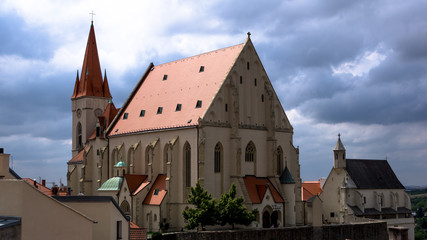 St Nicholas church in Znojmo