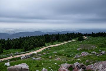 Rundwanderweg auf dem Brocken, Harz