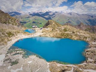 lago alpino al presena