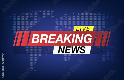 Background screen saver on breaking news breaking news live on background screen saver on breaking news breaking news live on world map background vector gumiabroncs Choice Image