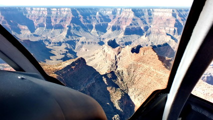 Grand Canyon from Helicopter