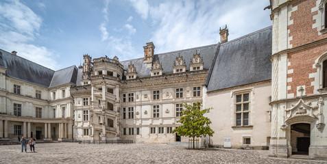 France, Blois, Blois Royal Castle, Chateau Royal de Blois,  Wall mural