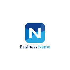 Letter N Logo Template Design
