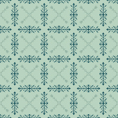Gentle tribal seamless pattern with ethnic elements.