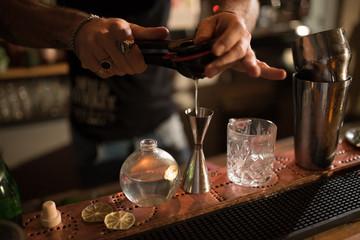 bartender and details