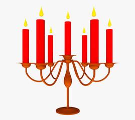 Kerzenständer, Freisteller