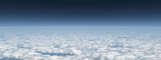 Ausblick über den Wolken