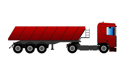 Muldenkipper Transporter
