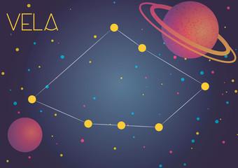 The constellation Vela