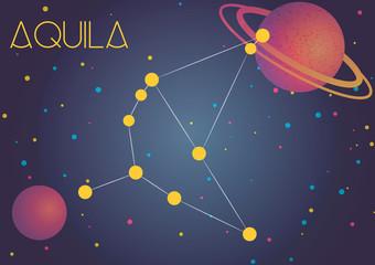 The constellation Aquila