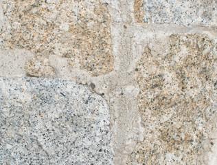 Old Stone Pavement Close Up