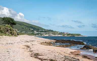 Coastline near Helmsdale, Sutherland, Highland, Scotland