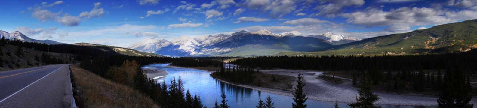 Beautiful Canadian Landscape, Alberta, Canada