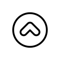 Arrow icon simple flat web navigation sign