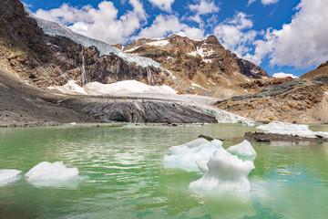 Keuken foto achterwand Gletsjers Alta Valmalenco (IT) - ghiacciaio di Fellaria - luglio 2018