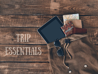 Trip essentials.