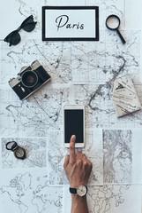Planning new destination.