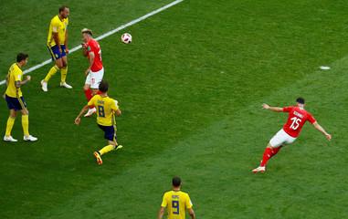 World Cup - Round of 16 - Sweden vs Switzerland