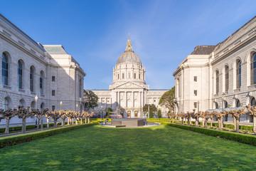 Photo sur Toile San Francisco San francisco city hall