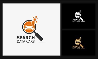 search data cars logo