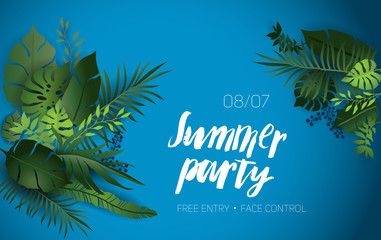 Summer vibes party