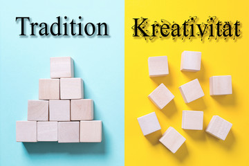 Traditioneller Aufbau vs. kreative Struktur