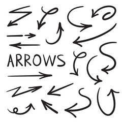 Set for design. Arrows drawn manually.