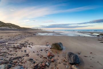 Fototapete - Sinclair Bay in Scotland